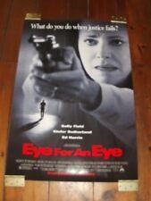 EYE FOR AN EYE Original Poster 27 X 40 - 2 SIDED