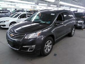 2016 Chevrolet Traverse LT1 AWD, Dual Skyscape Moonroof, WiFi, Low 32K