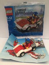 Lego City minifigure racing car 30150 100% Complete bag instructions 2012