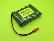 FDK SANYO 6v 4000 4/3 A FLAT RX RECEIVER BATTERY 4 RC  BEC S4005F-B MADE IN USA