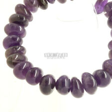 """8"""" Natural Purple Amethyst Tumbled Nugget Beads ap. 13mm - 14mm, 25 Beads #15221"""