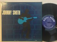 Johnny Smith Man With The Blue Guitar EX ROYAL ROOST MONO PROMO BEAUTIFUL