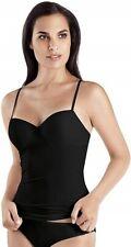 Hanro 167936 Womens Allure Bra Classic Underwire Camisole Top Black Size 36B