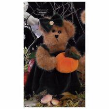 "The Bearington Collection-""Jacki O'Lantern"" Plush Bear-HALLOWEEN, collectible"