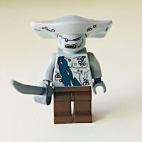 Genuine Lego 4184 Black Pearl Pirates of Caribbean Maccus Minifigure with sword