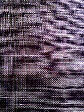 Sinamay Fabric remnants chocolate 15 x 45 2nds