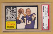 1962 TOPPS FRAN TARKENTON ROOKIE CARD PSA 6 EX-MT