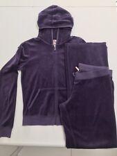 Juicy Couture Purple Velour Tracksuit Size Large