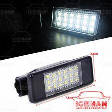 LED Kennzeichenbeleuchtung Peugeot 106 207 208 307 308 407 Citroen C2 C4 C6