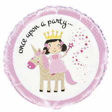 Pink Princess Unicorn Foil Balloon Unicorn Party Decoration Girls Birthday Party