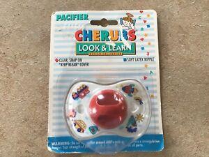 Vintage 1993 Playtex Cherubs Decorated Baby Pacifier New