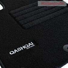Velours Logo Fußmatten Autoteppiche für Nissan Qashqai J10 ab Bj.2007 - 2014