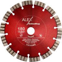Diamant-Trennscheibe 180 mm passend für Eibenstock EMF 180.1 180.2 Mauernutfräse