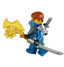 Lego 2014 ninjago battle for ninjago 70728 jay minifigure with weapons blue