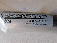 "Rainshadow Rx6 Dss1024-2 8'6"" 8-12 lb 2 pc. blank for rod building"