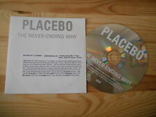 CD Indie Placebo - The Never-Ending Why (1 Song) Promo DREAMBROTHER