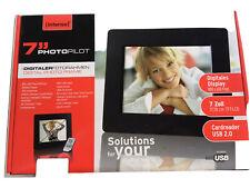 Digitaler Fotobilderrahmen 7 zoll 17,78 cm TFT-LCD USB Karte JPEG neu. OVP