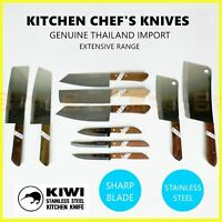 KIWI Knife Stainless Steel Blade Kitchen Chef Knives Cook Butcher Fruit Cleaver