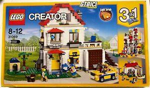 LEGO CREATOR  3en1  `` MODULAR FAMILY VILLA ´´   Ref 31069  NUEVO