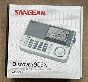 SANGEAN ATS 909X RECIEVER RADIO BOXED EXCELLENT CONDITION