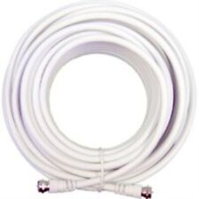 Wilson Electronics RG6 50 Ft. Low Loss Coax Cable - White (950650)