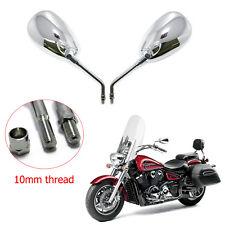 Chrome Motorcycles Rearview Mirrors For 2005 2006 Kawasaki Vulcan 750 /900 /1700