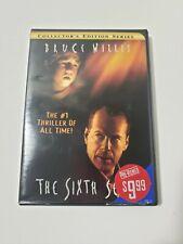 The Sixth Sense Dvd M. Night Shyamalan Bruce Willis 1999 Free Shipping