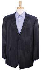 * BROOKS BROTHERS x BLACK FLEECE* Thom Browne Gray Pinstripe Wool Blazer BB4 42R
