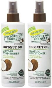 Palmer's Coconut Oil Formula Strengthening Leave-in Conditioner 250ml PACK OF 2