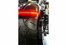 1x Flexible Audi Style Neon Red Tube DRL LIGHT FOR All Bikes