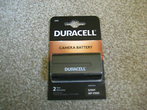 Duracell NP-F550 (ref: DR5) 7.2V  18.7 Wh Li-ion Battery For Camcorders-NEW