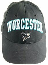 AHL Worcester Sharks Snapback Hat Cap Authentic Zephyr Adjustable black preowned