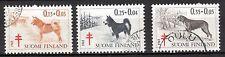 Finland - 1965 Tuberculosis / Dogs  - Mi. 600-02 VFU