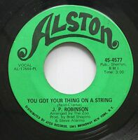 Hear! Northern Soul 45 J.P. Robinson - You Got Your Thing On A String / Love Is