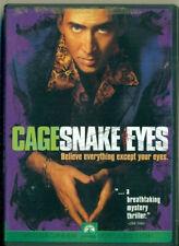 Dvd - Snake Eyes - Widescreen - Nicolas Cage - Gary Sinise - John Heard