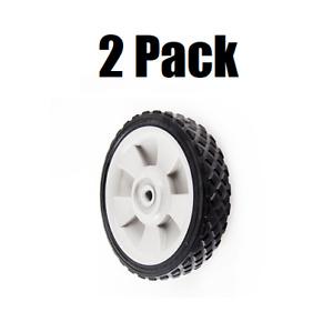 (2) MTD Genuine Part 734-04063B Wheel Assembly 7 x 1.4 Gray Troy-Bilt