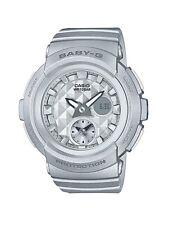 Casio Baby-G * BGA195-8A Studs Anadigi Dial Silver Watch COD PayPal