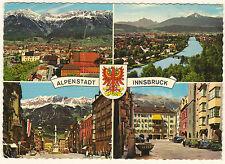 Postkarte Alpenstadt Innsbruck TKV Nr. 67 Tiroler Kunstverlag gelaufen