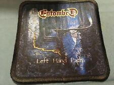 """Entombed Left Hand Path Sublimated Patch 3""""x3"""" Album Cover Rock Metal"""