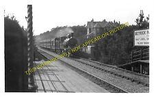 Meyrick Park Railway Station Photo. Bournemouth - Branksome. L&SWR. (1)