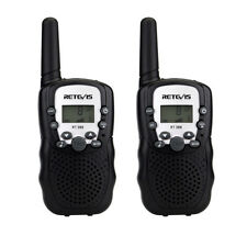 Retevis RT-388 Talkies Walkies Enfant PMR446MHZ 8 Canaux LCD+Tracking