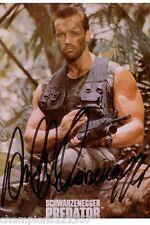 Arnold Schwarzenegger  ++Autogramm++ ++Predator++