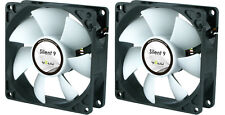 2 x GELID Solutions Silent 9 92mm Case Fans 1500 RPM, 31.3 CFM, 20.0 dBA