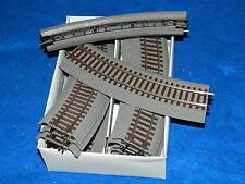 12x ROCO 42522 R2 RAIL de TRAIN track Line HO 1:87 Gleise Schienen ZUG gare VOIE