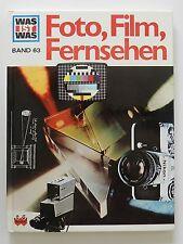 Was ist Was Buch Foto Film Fernsehen Hans Reichardt Anne Lies Jhme Band 63
