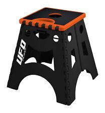 UFO Moto MX Motocross Fold Out Foldable Bike Paddock Box Stand Orange Black