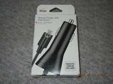Verizon Vehicle Charger with Dual Output and LED Light, NEW