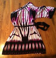 Rampage One Open Shoulder Dress Junior's Size S Small EUC!!!