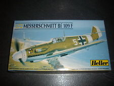 HELLER  MESSERSCHMITT BF 109 F   PLASTIC MODEL 1/72