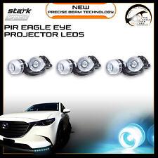 Eagle Eye 18mm Projector ICE WHITE 8K LED Fog Light DRL Backup Signal - 6 PCS